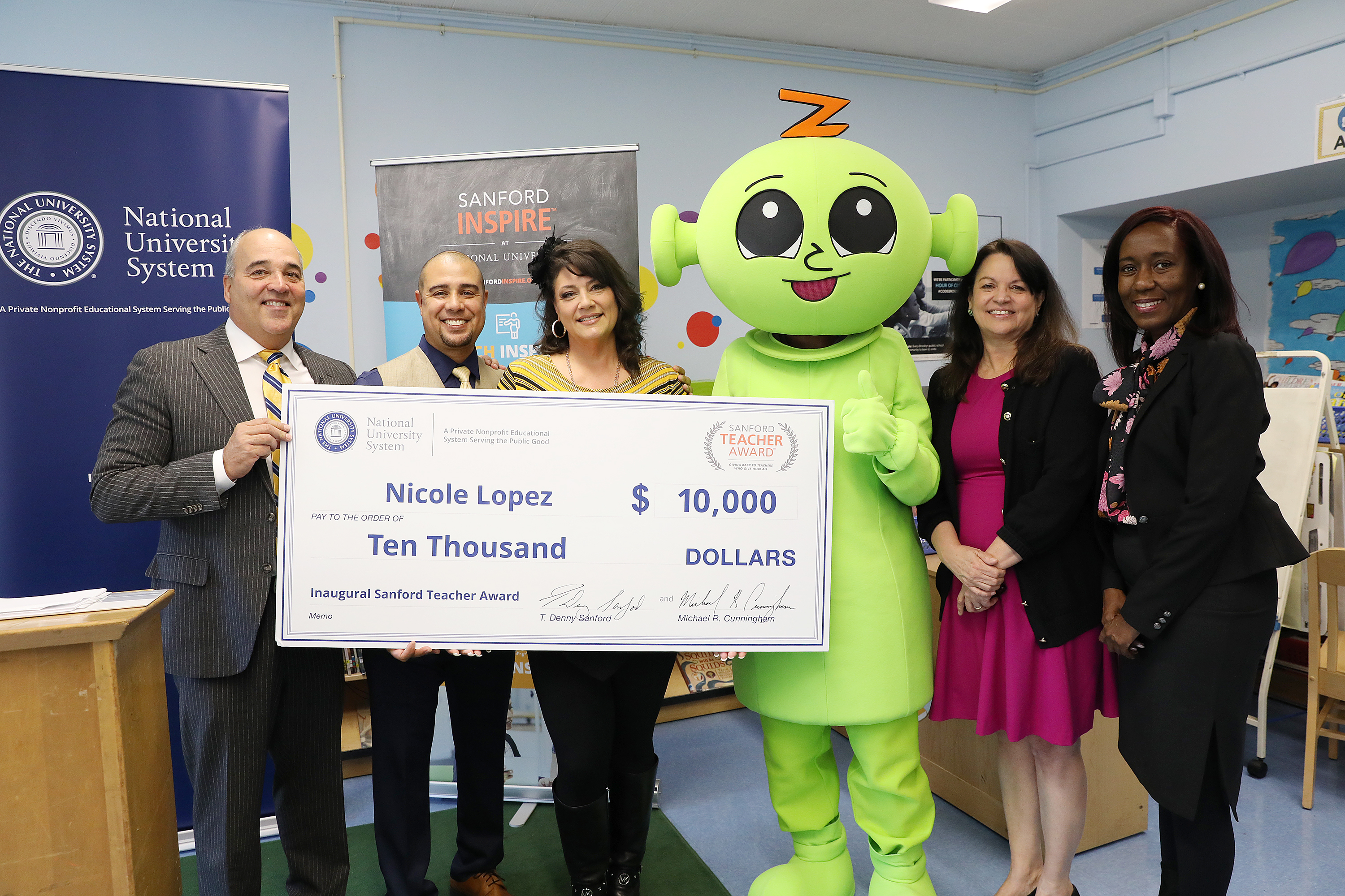 Nicole Lopez Recognized as an Inspirational Teacher