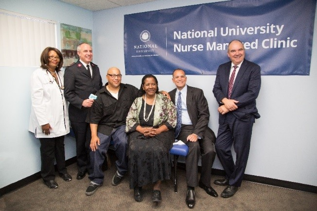 NU partners with Salvation Army to open two new nurse-managed clinics in Los Angeles.